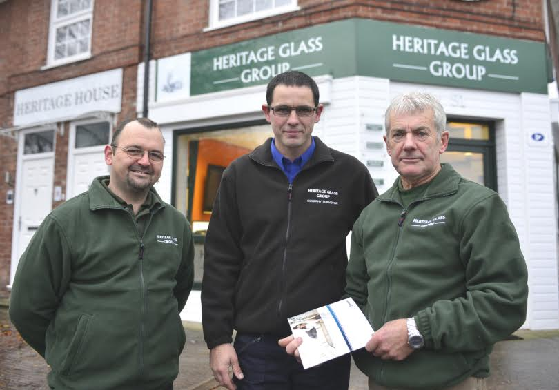 Heritage Glass Group promotes key members of staff